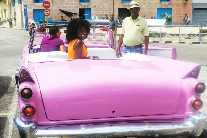 (Karen in Havana, Cuba in the summer 2016)